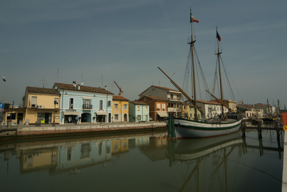 Cesenatico - the port [credit photo: Gianpiero Buonagurelli]